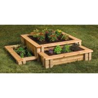 GARDEN BLOCKS - 3 TIER CORNER