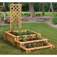 GARDEN BLOCKS - STEPS & LATTICE