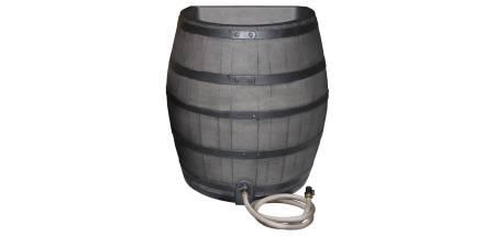 50 Gallon Flat Back Whisky Barrel - GRAY