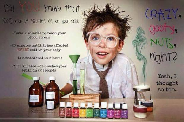 kids and oils