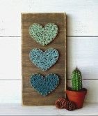 string art 3 hearts copy