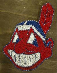 CLE Indian string art