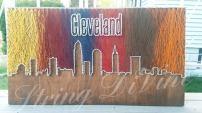 CLEVELAND TOP STRING STRING ART