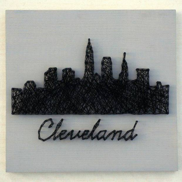 CLEVELAND SILHOUETTE -$45