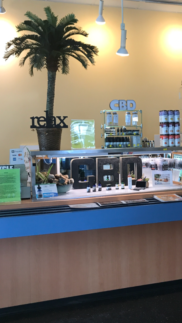 CBD DISPLAY COUNTER 2018