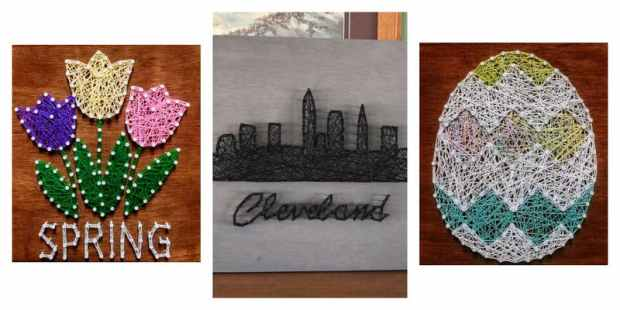 string art cleveland
