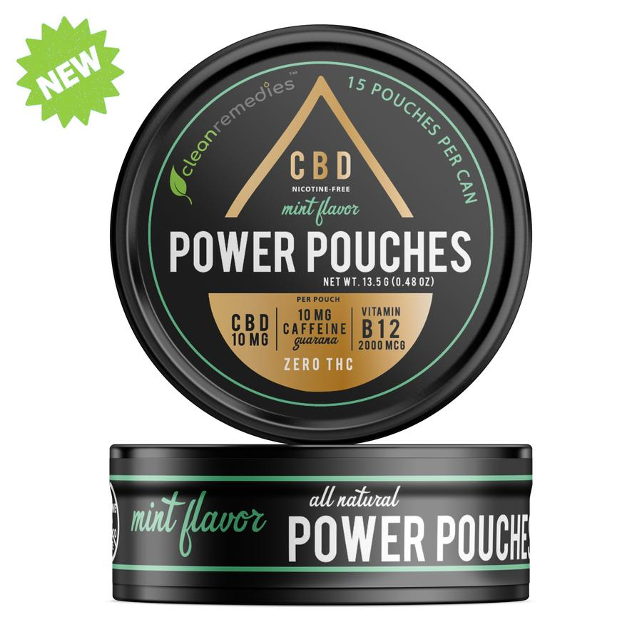 Power Pouches MINT CBD