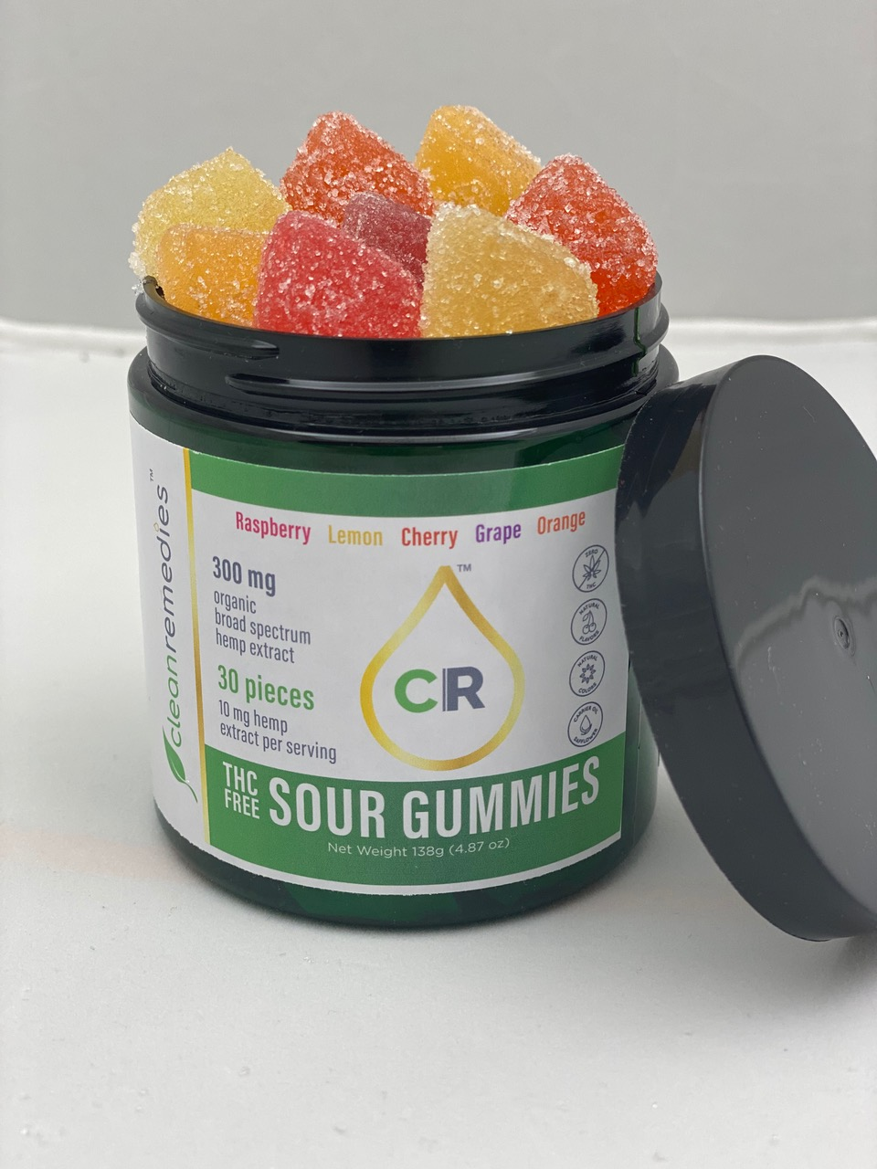 open CR gummies